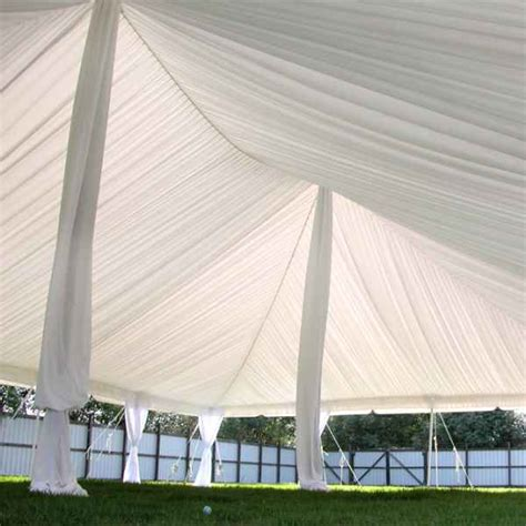 Draping Poles - tent leg and pole draping