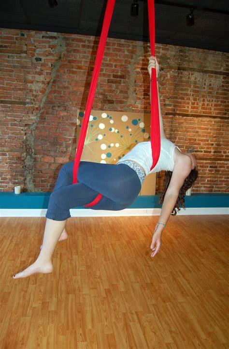 aerial sling aerial hammock moves  faint flight
