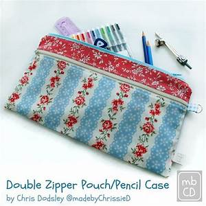 Tutorial: Double zipper pouch – Sewing