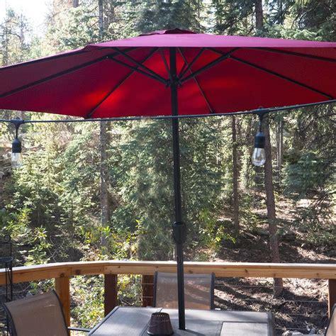 pure garden aluminum patio umbrella review simple  affordable
