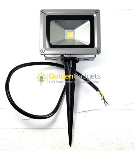 yard stake flood lights ground stakes for outdoor led flood lights