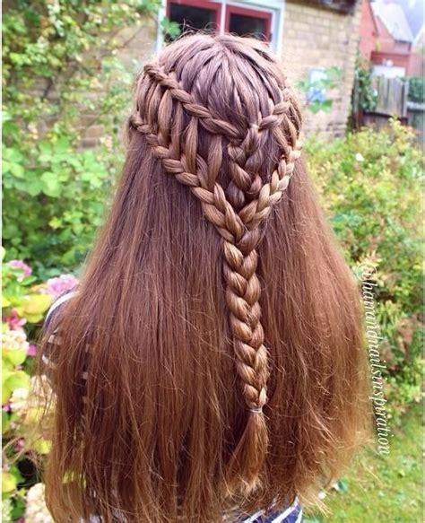 cool ladder braid combo hair pinterest braids