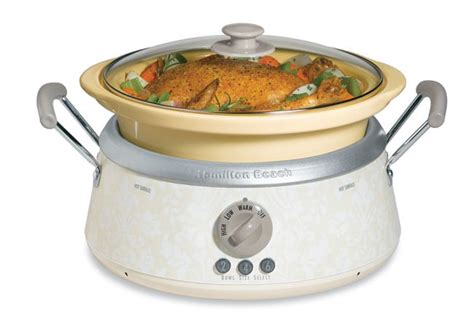 hamilton 3 in 1 slowcooker free shipping today overstock 12105589