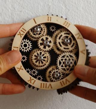 wooden gear trains connie yu