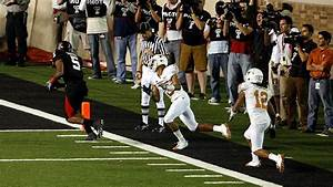 GameDay 100: Crabtree's clutch catch wins game for Texas ...