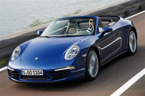 blue porsche convertible used 2014 porsche 911 convertible pricing for sale edmunds