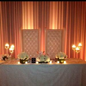 20 best sweetheart table ideas images on pinterest With bride and groom table centerpiece