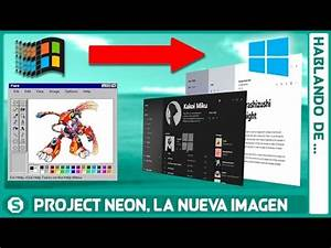 Project NEON La evolución gráfica de Windows