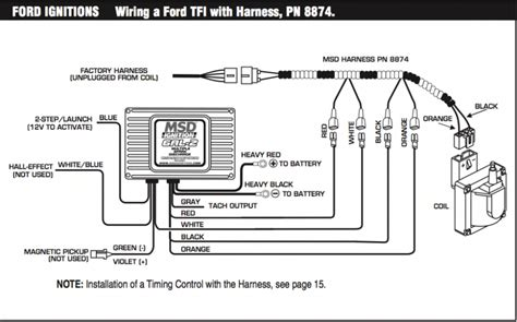 Msd Coil Tach Wiring by Msd 6al2 Install Question Mustang Forums At Stangnet
