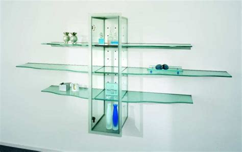 ikea glass wall shelves the elegance of 14 floating glass shelves design will amaze you top inspirations