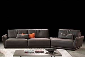 Victor leather sectional sofa by gamma arredamenti room for Gamma leather sectional sofa