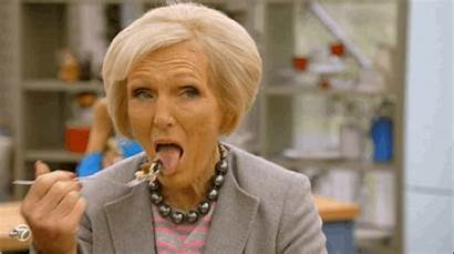 Mary Berry British Eating Eggs Giphy Scrambled