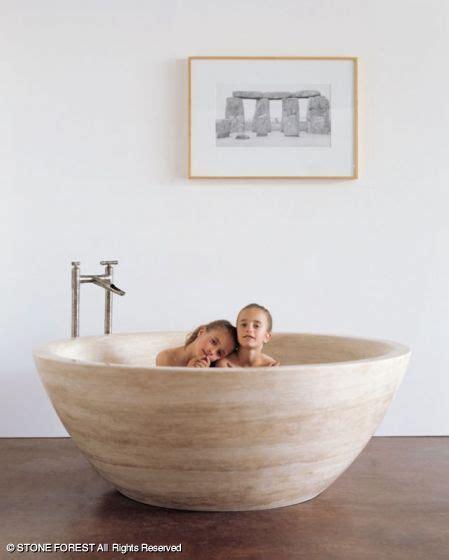 stone forest     bathtub