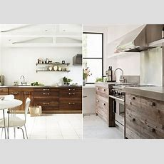 Kitchen Design Ideas With Recycled Timber Doors  Natural