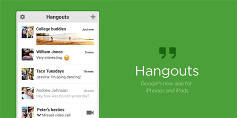s hangouts iphone app brings ios
