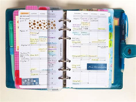 My Current Main Planner Setup (2016 December) Personal