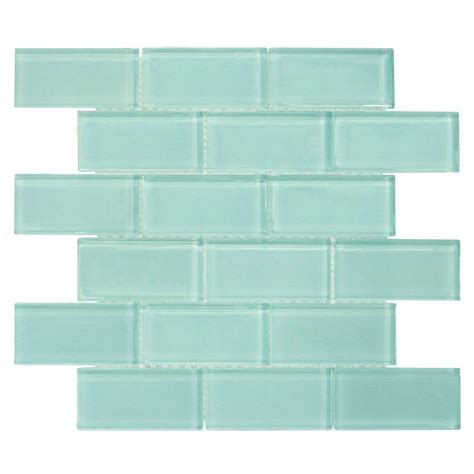 Jeffrey Court Mosaic Tile Home Depot by Splashback Tile Roman Selection Iced Blue Arabesque 12 1 4