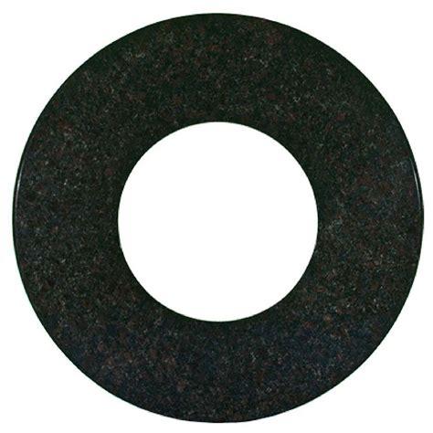 pit 48 inch black mahogany granite table top 1150 bm 48