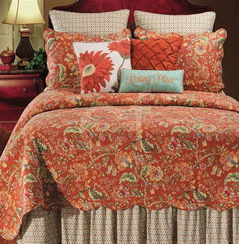 Floral Quilts by Adele Jacobean Floral Quilt