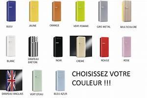 Réfrigérateur De Couleur : congelateur couleur table de cuisine ~ Premium-room.com Idées de Décoration