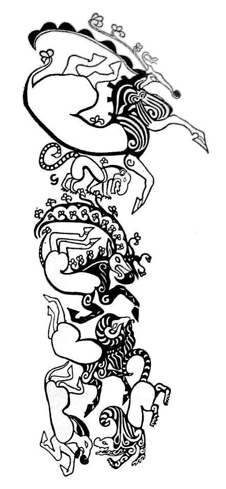 scythian tattoo mummy - Google Search | Ancient tattoo, Tattoos, Symbolic tattoos