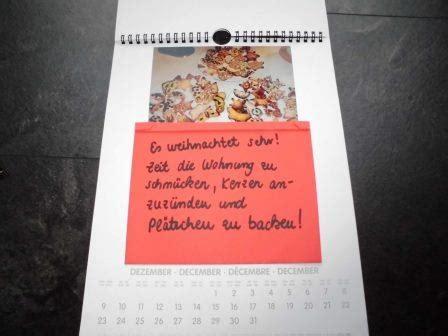 fotokalender ideen zum selbermachen geburtstagskalender basteln geschenkelilly