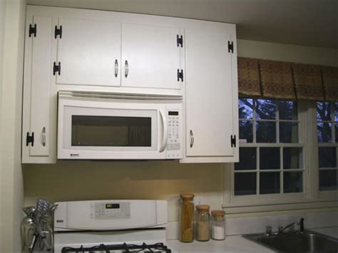 Range Cabinet by Install Above Range Convection Oven And Cabinet Hgtv