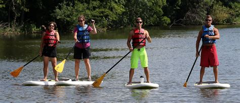blugold creates paddleboarding workshop learns great