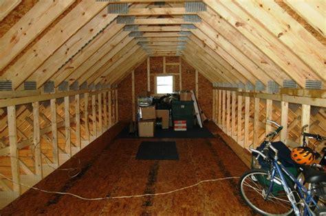 insulate  vent  garage attic doityourself