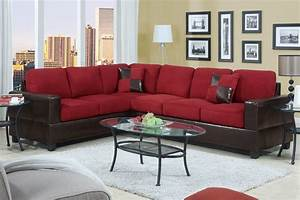 Red sectional sofa sectional sofacheap red sectional sofa for Red sectional sofas cheap