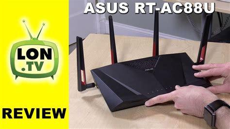 asus rt acu router  depth review youtube