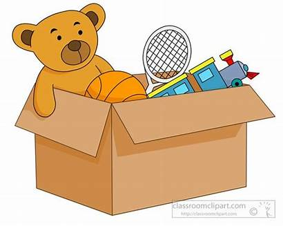 Toys Clipart Toy Box Filled Open Transparent