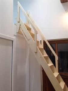 Echelle D Escalier : r alisation d une chelle meuni re escamotable en sapin ~ Premium-room.com Idées de Décoration