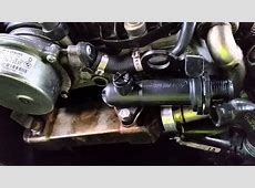 BMW E60 530d Main Engine and EGR Thermostat change YouTube