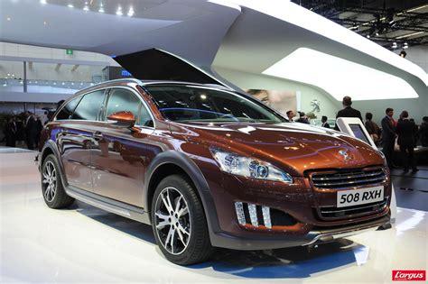 peugeot 5008 hybride peugeot 508 rxh 4x4 et hybride diesel salon de francfort 2011