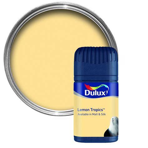 dulux colour lemon tropics matt emulsion paint