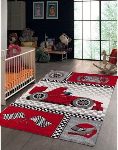 tapis chambre enfant garcon tapis pour chambre de gar 231 on cr 232 me et gris voiture f1 speed
