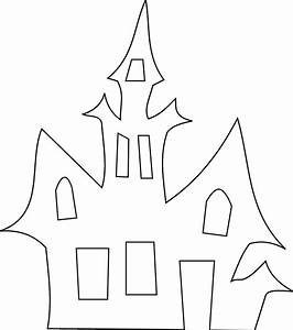 Halloween Cutouts Coloring Pages - Coloring Home