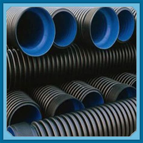 double wall corrugated pipe hdpe corrugated tube dwc pipe