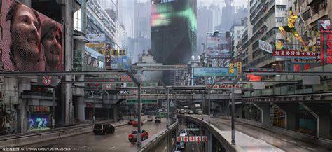 making   downtown cyberpunk