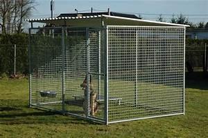top 6 best outdoor dog kennel reviews for 2017 With big dog enclosures