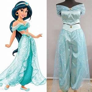 Hotting! Aladdin Jasmine Princess Cosplay Costume for Adult Custom made costume | Disney cosplay ...