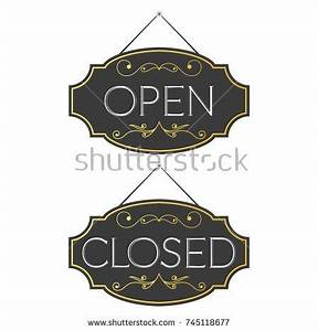 open closed sign template - hotel sign stock vector 63367024 shutterstock