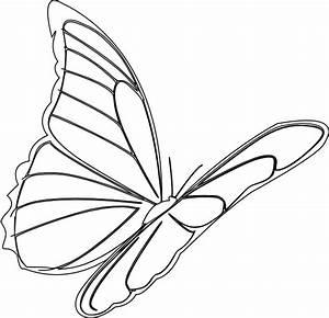 Butterfly Flying Clip Art at Clker.com - vector clip art ...