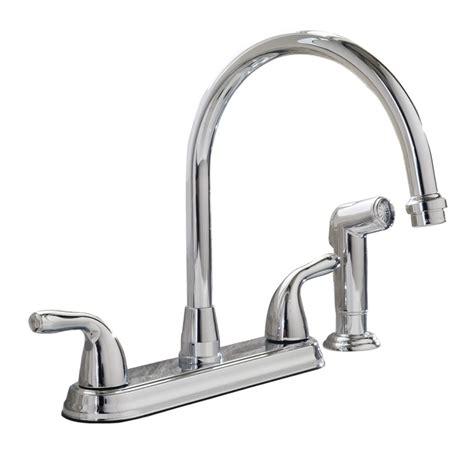 aquasource kitchen faucets aquasource f8fa0036cp chrome 2 handle high arc kitchen