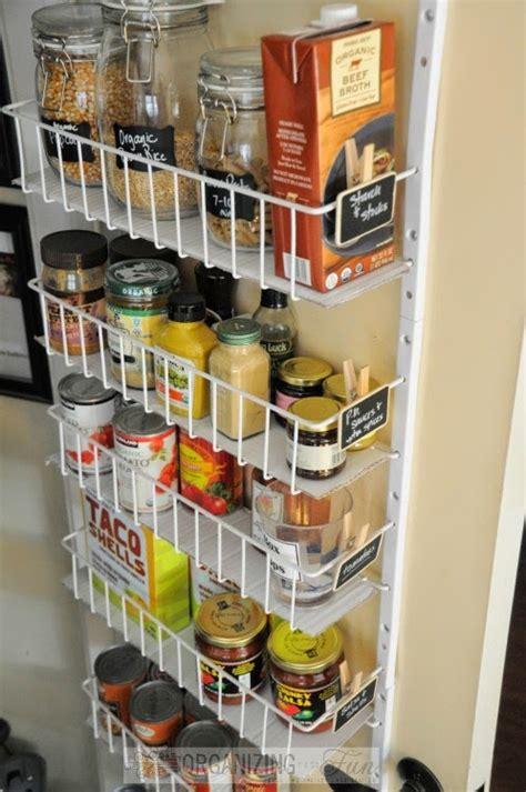 back of door storage kitchen pantry organization inspiration organizing made 7552