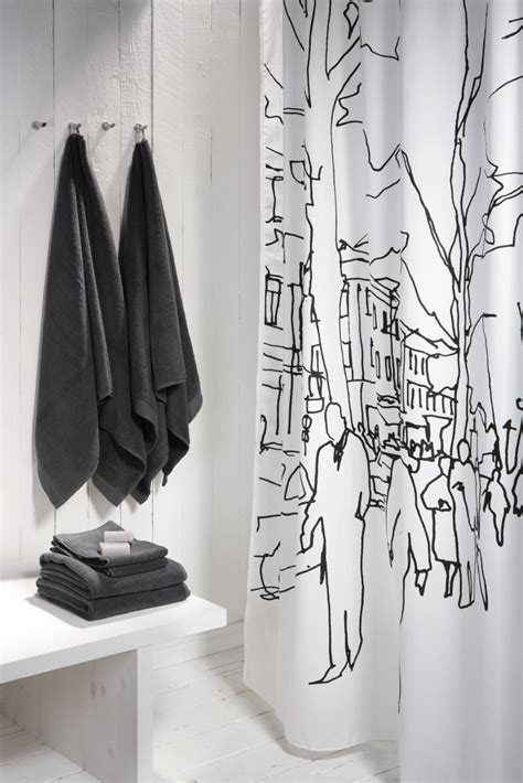 Contemporary Shower Curtain by 10 Stylish And Modern Shower Curtains