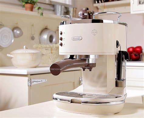 De'longhi Icona Vintage Traditional Pump Espresso Coffee