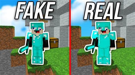 Fake Diamond Armor Challenge In Minecraft Money Wars