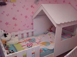 Cabane Chambre Fille : lit enfant cabane swam blanc ~ Teatrodelosmanantiales.com Idées de Décoration